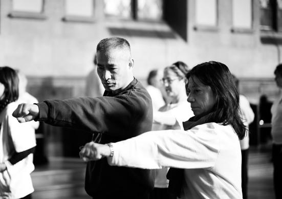 Qigong Master Teaching
